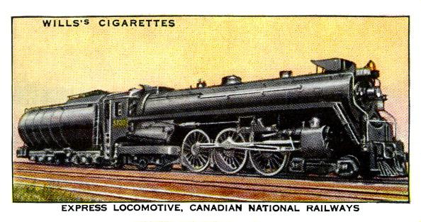 20th Century Style「Canadian Express Locomotive」:写真・画像(17)[壁紙.com]