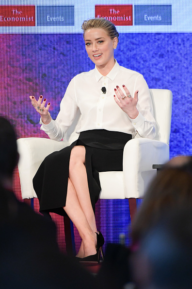 Amber Heard「2nd Annual Pride & Prejudice Summit」:写真・画像(3)[壁紙.com]