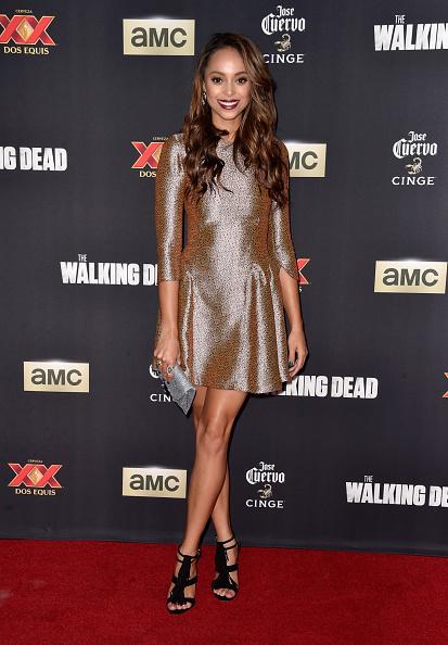 "Three Quarter Length Sleeve「AMC Celebrates The Season 5 Premiere Of ""The Walking Dead"" - Arrivals」:写真・画像(15)[壁紙.com]"