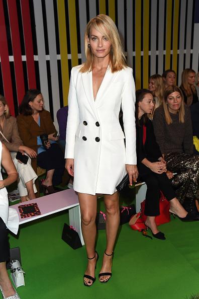 Blazer - Jacket「Escada - Front Row - September 2018 - New York Fashion Week」:写真・画像(18)[壁紙.com]