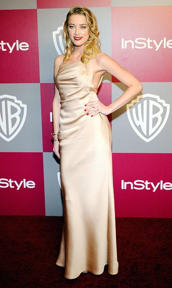 Amber Heard「2011 InStyle/Warner Brothers Golden Globes Party - Arrivals」:写真・画像(17)[壁紙.com]