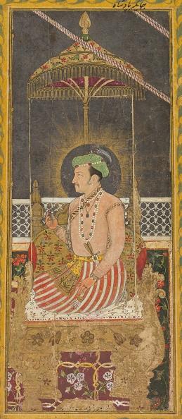 Empire「Posthumous Portrait Of Emperor Jahangir Under A Canopy (Recto); Calligraphy (Verso)」:写真・画像(17)[壁紙.com]