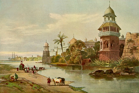 Delhi「Delhi - The Kings Palace From The River 1」:写真・画像(4)[壁紙.com]