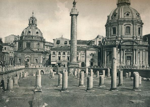 Architectural Column「Forum of Trajan, Rome, Italy」:写真・画像(5)[壁紙.com]
