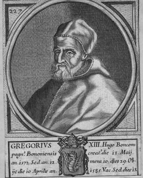 カレンダー「Pope Gregory XIII」:写真・画像(1)[壁紙.com]