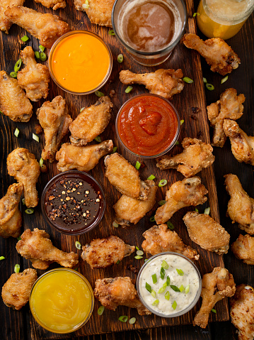 Teriyaki「Whats Your Favorite Dip for Chicken Wings」:スマホ壁紙(15)
