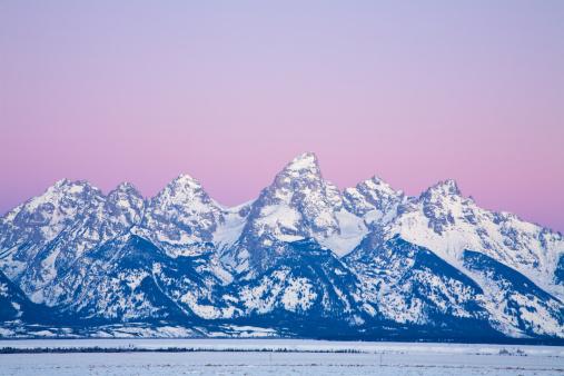 Steep「Teton Mountain Range in Winter」:スマホ壁紙(10)