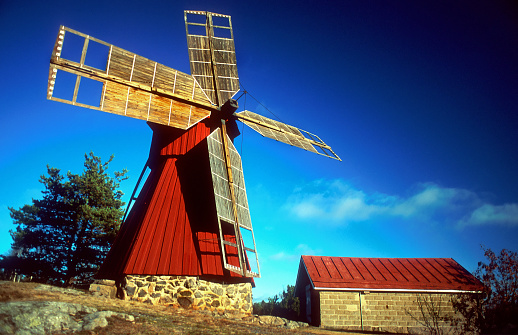 Finland「Typical Wooden Windmill in Turku」:スマホ壁紙(9)