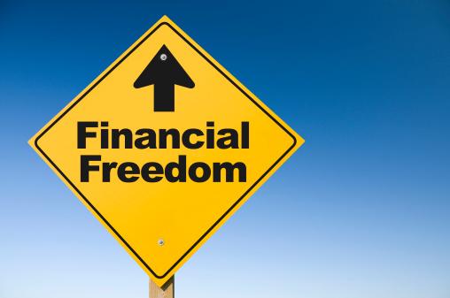 Freedom「Financial Freedom」:スマホ壁紙(1)