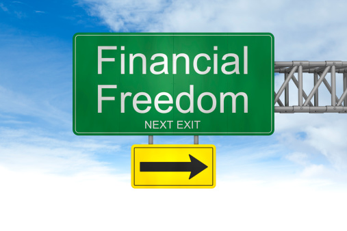 Freedom「Financial freedom Sign」:スマホ壁紙(10)