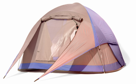 Tent「A blue and grey two person dome tent」:スマホ壁紙(4)