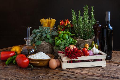 Spice「Mediterranean cuisine fresh ingredients」:スマホ壁紙(16)