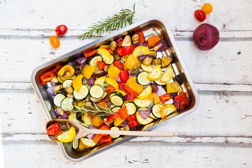Mediterranean Food「Mediterranean oven vegetables」:スマホ壁紙(4)