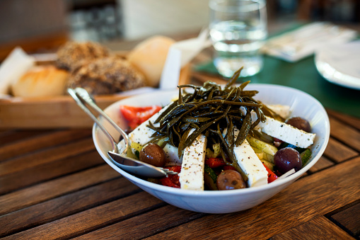 Delicatessen「Mediterranean food,Greek salad」:スマホ壁紙(8)