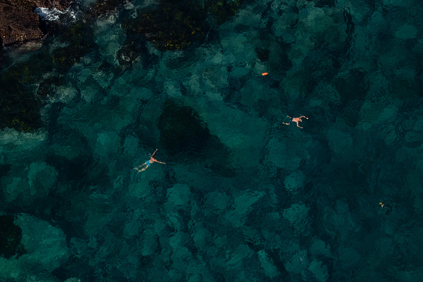 Sea「Aerial Views Of Sydney As Australia Sees Steady Decline In New Coronavirus Cases」:写真・画像(8)[壁紙.com]