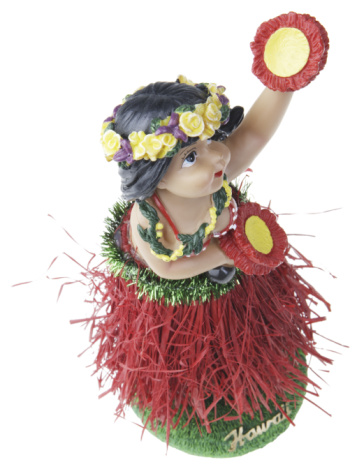 Hula Dancing「Souvenir hula girl figurine」:スマホ壁紙(11)
