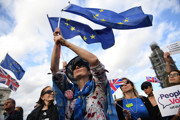 Brexit「Protests Take Place As MPs Vote On Preventing A No Deal Brexit」:写真・画像(12)[壁紙.com]