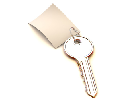 Manuscript「key with note. 3d」:スマホ壁紙(18)