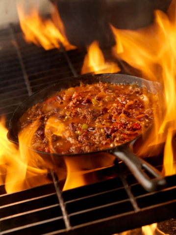 Chili Con Carne「Chili in a Cast Iron Skillet」:スマホ壁紙(12)