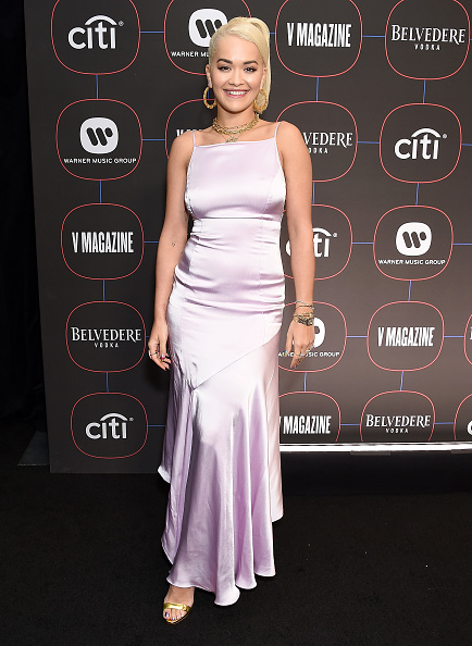 パステルカラー「Warner Music Group Hosts Pre-Grammy Celebration - Arrivals」:写真・画像(0)[壁紙.com]