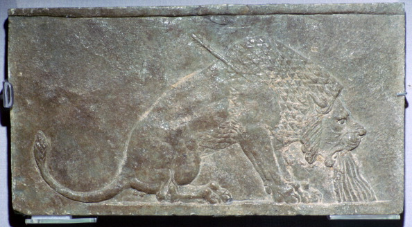 Alabaster「'The Dying Lion', a stone panel from Nineveh, northern Iraq, Neo-Assyrian, c645 BC.」:写真・画像(10)[壁紙.com]