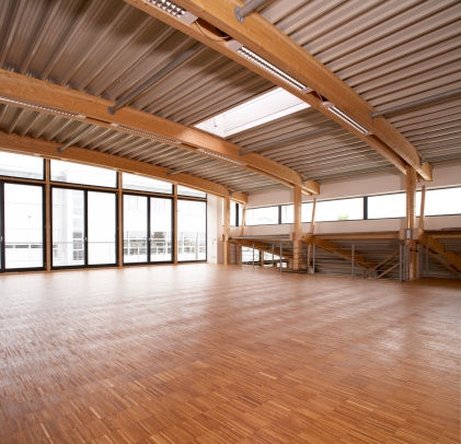 Roof Beam「New office space」:スマホ壁紙(10)