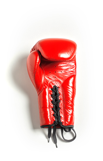 Protection「Red Boxing Glove on White background」:スマホ壁紙(7)