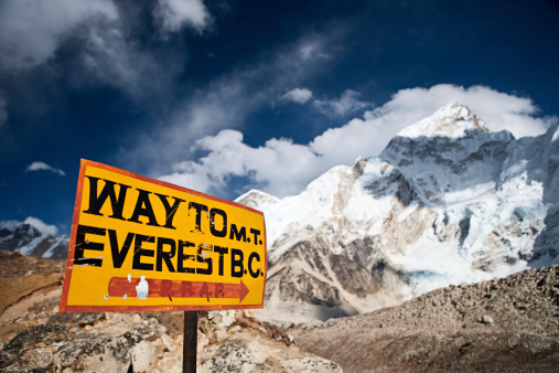 Khumbu Glacier「Way to Everest Base Camp」:スマホ壁紙(2)