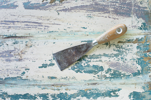 Restoration Style「Spatula on painted wood」:スマホ壁紙(17)