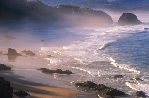 Cannon Beach「USA, Oregon, Cannon Beach」:スマホ壁紙(7)