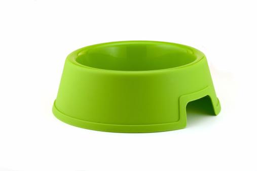 Pet Food Dish「Bright Green Dog Bowl...」:スマホ壁紙(1)