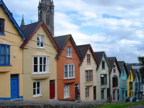 Steep「Cobh houses Ireland」:スマホ壁紙(11)