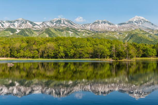Lake Yonko, Hokkaido, Japan:スマホ壁紙(壁紙.com)