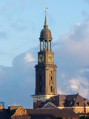 St「Germany, Hamburg, St Michaelis church」:スマホ壁紙(6)