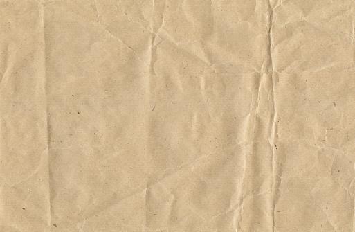 Texture「Crinkled brown paper」:スマホ壁紙(1)