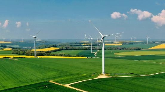 Power Supply「Wind farm in France」:スマホ壁紙(14)