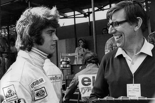 Motor Racing Track「Cevert, Tyrrell, Grand Prix of Spain」:写真・画像(12)[壁紙.com]