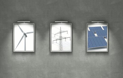 Electricity Pylon「Alternative power generation for the environment」:スマホ壁紙(1)