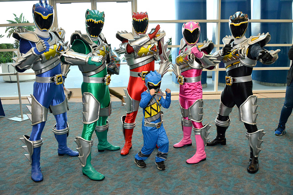 Comic con「Saban's Power Rangers Dino Charge At San Diego Comic-Con 2015」:写真・画像(6)[壁紙.com]