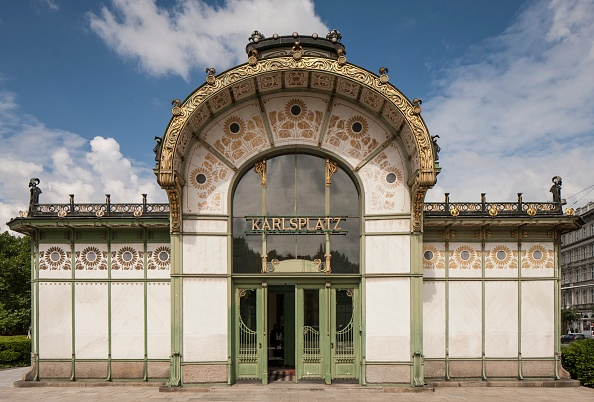 Ornate「Karlsplatz Station」:写真・画像(7)[壁紙.com]