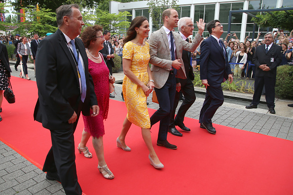 Arrival「The Duke And Duchess Of Cambridge Visit Germany - Day 2」:写真・画像(12)[壁紙.com]