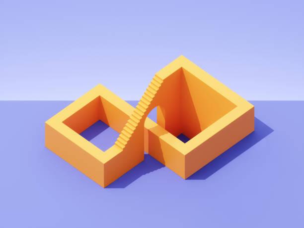 Impossible stairs:スマホ壁紙(壁紙.com)
