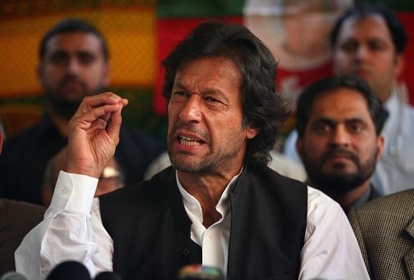 Politician「Freed Imran Khan Holds Press Conference」:写真・画像(14)[壁紙.com]