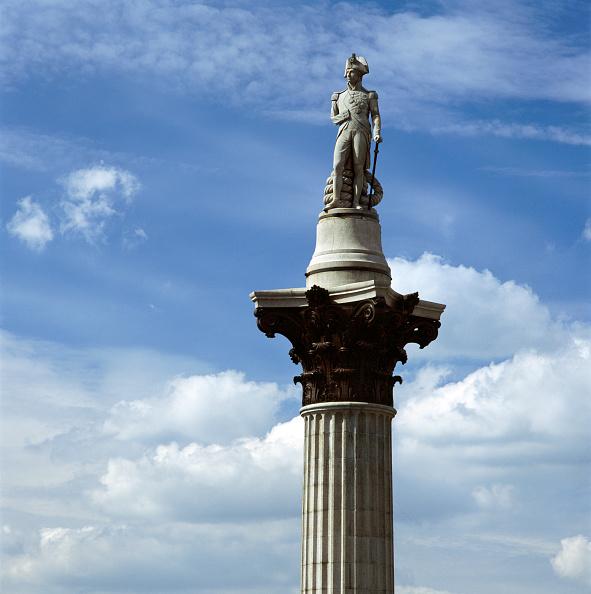 Architectural Column「Nelson's Column, Trafalgar Square, City of Westminster, London, c2000s(?)」:写真・画像(1)[壁紙.com]
