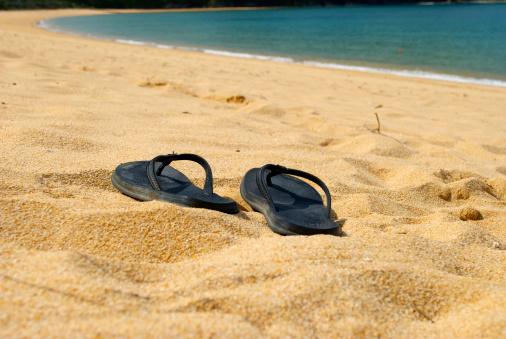Abel kiwi「Jandal Summer Seascape, Abel Tasman National Park, NZ」:スマホ壁紙(4)