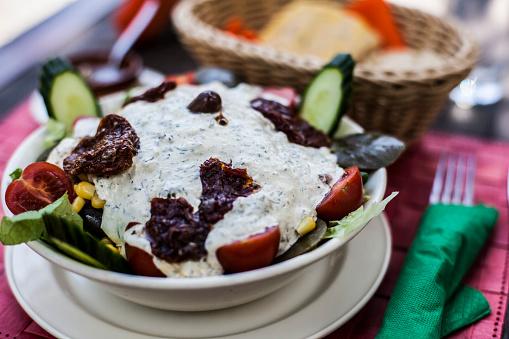 Tzatziki「Greek salad」:スマホ壁紙(17)