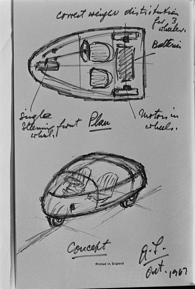 Plan - Document「Alec Issigonis Electric Car」:写真・画像(5)[壁紙.com]