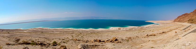 Unrecognizable Person「Dead Sea at Jordan」:スマホ壁紙(14)