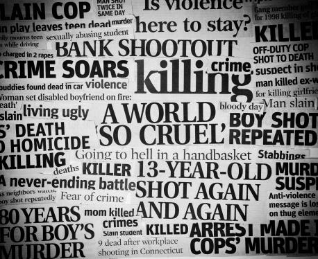Emergency Services Occupation「Cruel World headline collage」:スマホ壁紙(18)