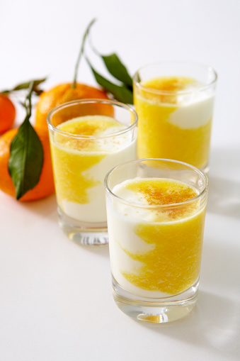 Orange juice「Orange and Yogurt Smoothie」:スマホ壁紙(13)